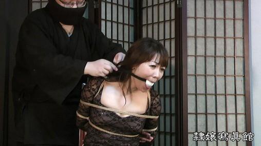 熟女緊縛 連続猿轡責めの熟女 市川彩香