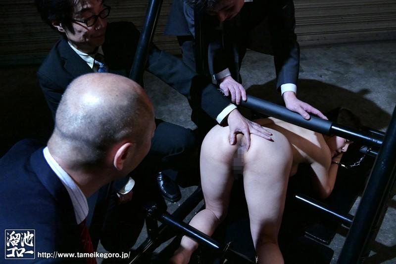 抵抗できない様に人体を固定され性具に堕とされた中出しダッチ妻 めぐり