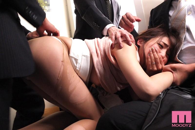 輪姦痴漢電車 14本のチ●ポに快楽堕ちした若妻 秋山祥子