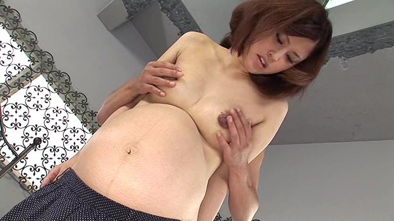 超ビンカン新妻のイキッパ臨月セックス!愛葉ちずる